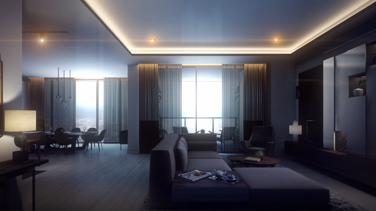 Ultramodern Living at Colombo City Centre