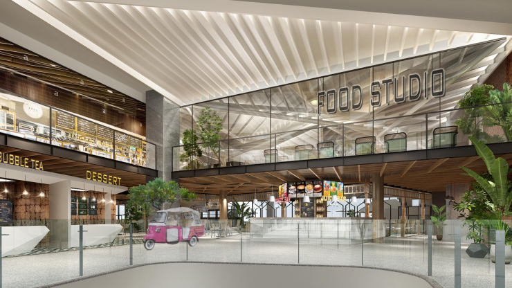 Sri Lanka's first food atrium set to open at The Mall at Colombo City Centre