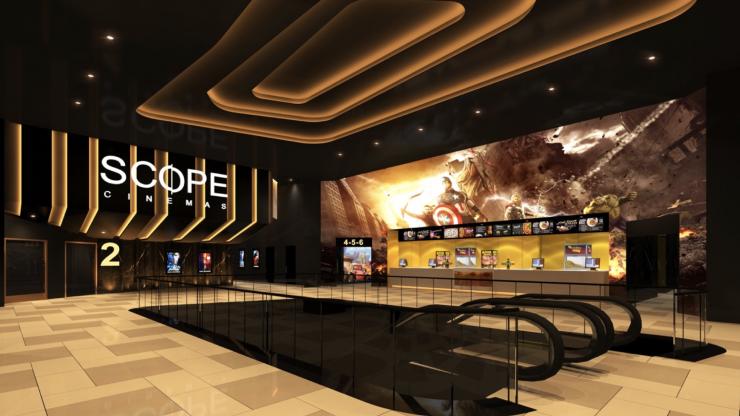 Sri Lanka's first multiplex cinema at Sri Lanka's first international mall